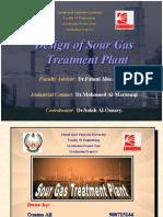 Design of Sour Gas Treatment Plant