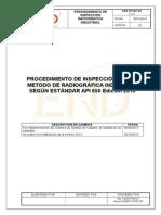 END-PR-IRT-03 Procedimiento RT( API 650).doc