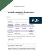 INSTRUMENTAL DE TEMPERATURA DE AIRE, SUELO Y HUMEDAD ATMOSFÉRICA