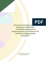Documento de Apoyo Para Equipos de Supervisión - Primera Fase PME Vf