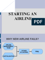 Starting an Airline