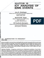 FREQUENCY ANALYSIS OF EXTREME EVENTS