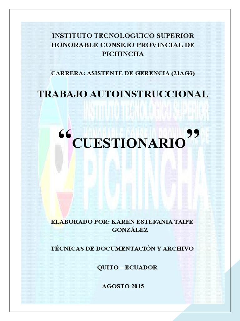 TECNICAS ARCHIVO - AUTOINS