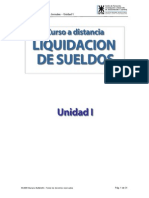 Curso Completo Liquidacion de Sueldo