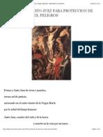 ORACION DEL JUSTO JUEZ PARA PROTECCION DE ENEMIGOS, MALES, PELIGROS | ORACIONES A LOS SANTOS.pdf