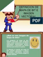 Definicion Mapa de Bit e Imagen Vectorial
