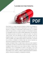 El Efecto Placebo en Fisioterapia