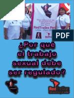 Díptico REDTRASEX PERÚ regulación trabajo sexual mayo 2015