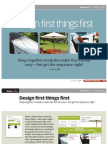 Ba0624 Design First Things First