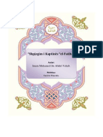 """Shpjegimi i Kaptinës El-Fatiha"""