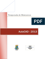 Apostila AutoCAD PET Civil