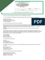 Prueba Diagnostica HISTORIA UNIVERSAL 2015-2016