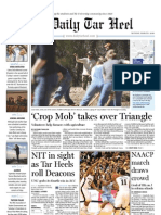 The Daily Tar Heel for March 1. 2010