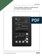 IQ Transfer Controller Instalación Mantenimiento y Operación.pdf