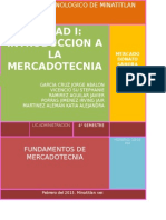 Inv. Bibliografica U-1 Introduccion de Mercadotecnia.