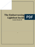 The Embarrassing Sally Lightfoot Incident