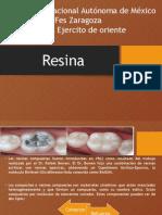 Exposicion resinas
