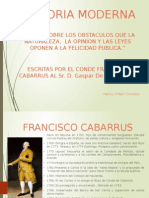 Francisco de Cabarrus. S.XVIII