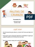 Pautas de Crianza Primera Infancia