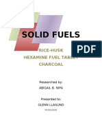 Hexamine fuel tablet doc | Materials | Chemical Substances