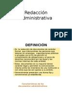 Redacción Administrativa