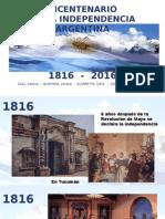 Bicentenario 1816 2016