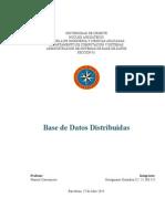 Base de Datos Trabajo