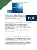 Manual Para Instalar Windows 7 en La Computadora