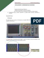Práctica  osciloscopio