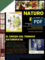Conferencia Naturopatia Reducida Agosto 2015