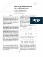 Ftd - An Exact Frequency to Time Domain Conversion for Reduced Order RLC Interconnect Models