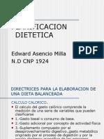 planificacion dietetica