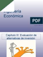 Sesión N° 3ingenieria econonmica Evaluación de alternativas de inversión