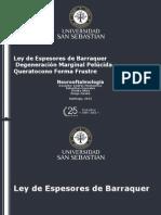 Barros Luco presentación córnea