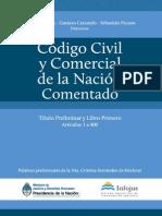 CÓDIGO CIVIL y COMERCIAL _Comentado_Tomo_I (Arts. 1 a 400)