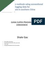 Gana Surya Pradana (Evaluation Well Log Shale Gas)
