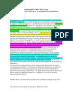 La Economia Argentina