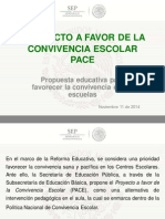 Proyecto a favor de la Convivencia Escolar