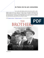 LOS HERMANOS (Jhon and Allen Dulles) - Stephen Kinzer