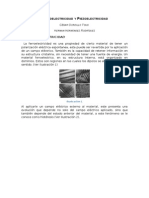 Ferroelectricidad y Piezoelectricidad