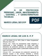 EPI , Usos , Mantenimeinto ,  Control