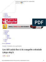 Les Aït Laâziz face à la...- La Dépêche de Kabylie