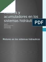 ACUMULADORES EN SISTEMAS HIDRÁULICOS