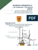 Destilacion simple y fraccionada