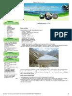 Mattmark Dam (H= 117 m)
