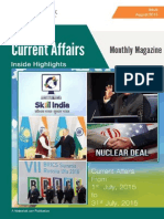 Current Affairs August