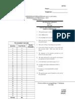 Peperiksaan Penggal 1 2015 Matematik Tambahan Tingkatan 4 Baru