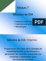 Mod 07 Metodos de EIA