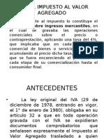 IVA Antecedentes