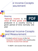 National Income-I
